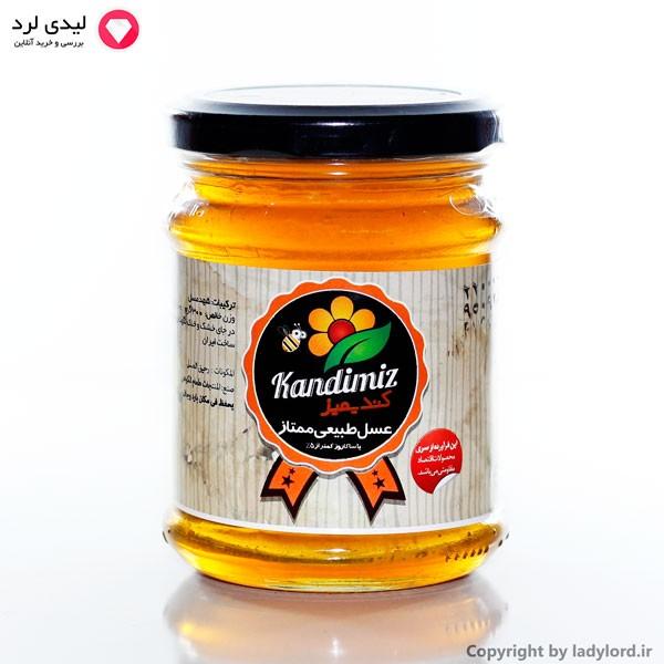 عسل طبیعی ممتاز با ساکاروز کمتر از 5%  300 گرم
