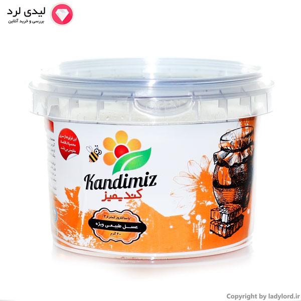عسل طبیعی ویژه با ساکاروز کمتر از 2%  300 گرم ظرف پلاستیکی
