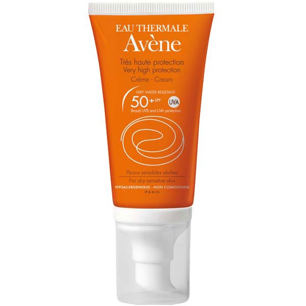 کرم ضد آفتاب فاقد رنگ   SPF50 پلاس اون (پوست نرمال تا خشک)