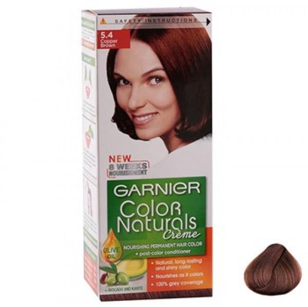 کیت رنگ مو گارنیه شماره Color Naturals 5.4
