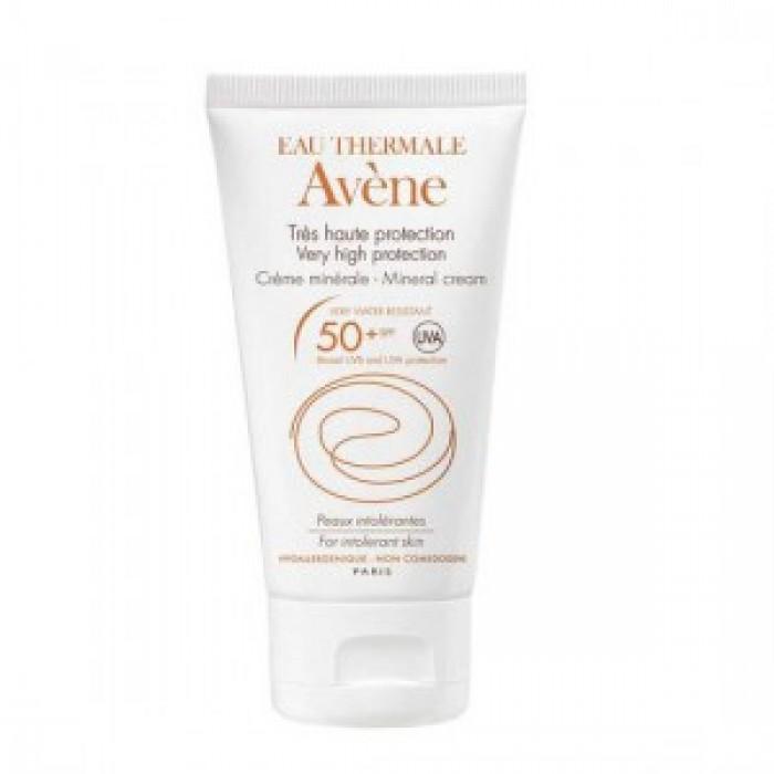 کرم ضد آفتاب مینرال  SPF50 اون پوست حساس