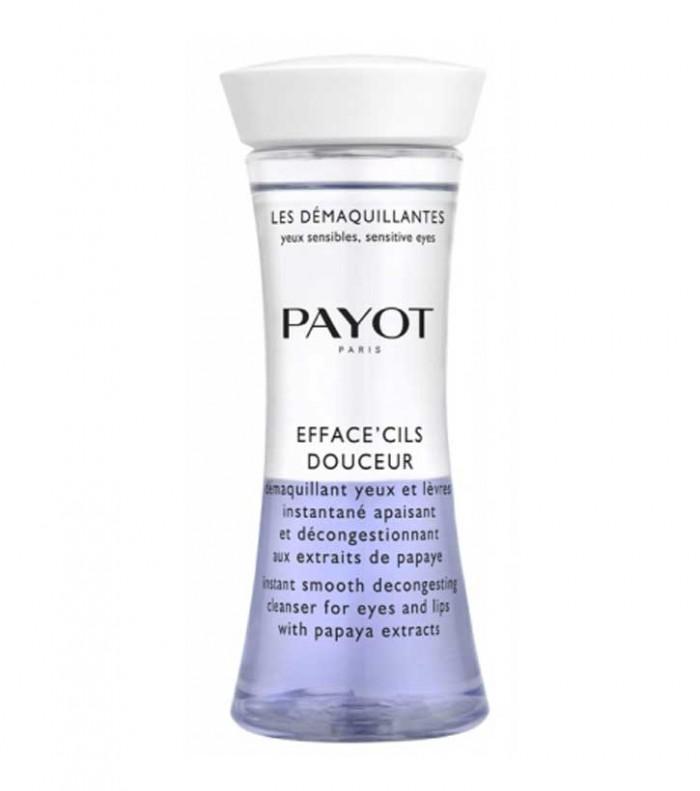 پاک کننده دو فاز آرایش چشم و لب با عصاره پاپایا پایو مدل EFFACECILS DOUCEUR