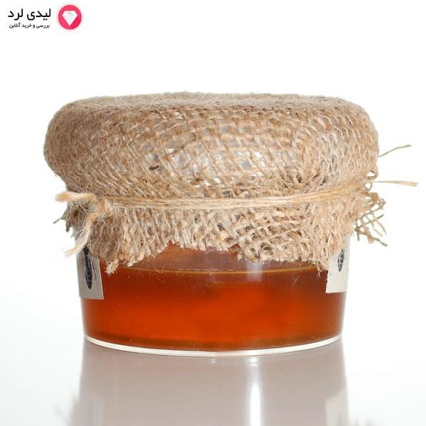 عسل طبیعی ویژه با ساکاروز کمتر از 2%  300 گرم ظرف پلاستیکی بسته بندی لیدی لرد