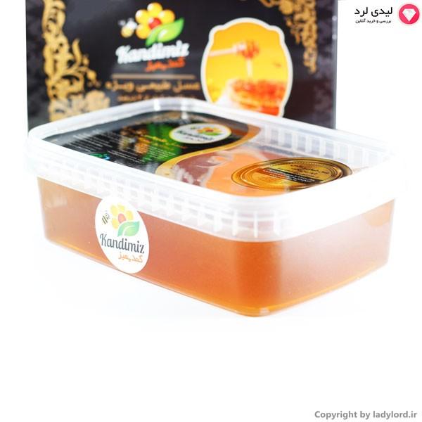 عسل طبیعی ویژه با ساکاروز کمتر از 5%  1000 گرم ظرف پلاستیکی