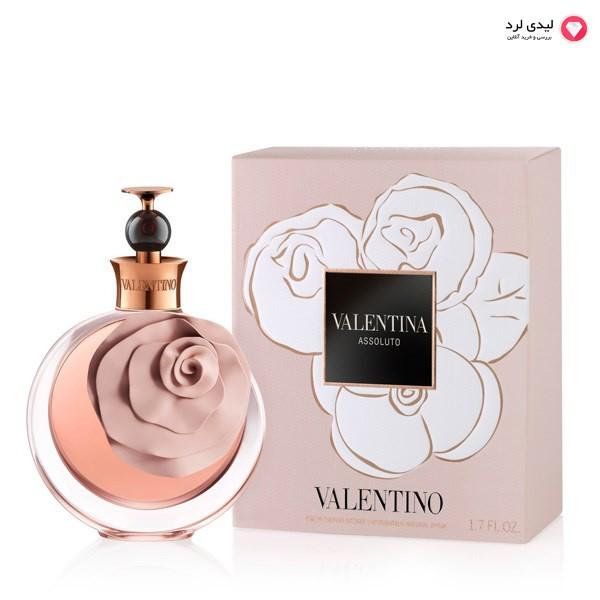 ادو پرفيوم زنانه ولنتينو مدل Valentina Assoluto حجم 50 ميلي ليتر