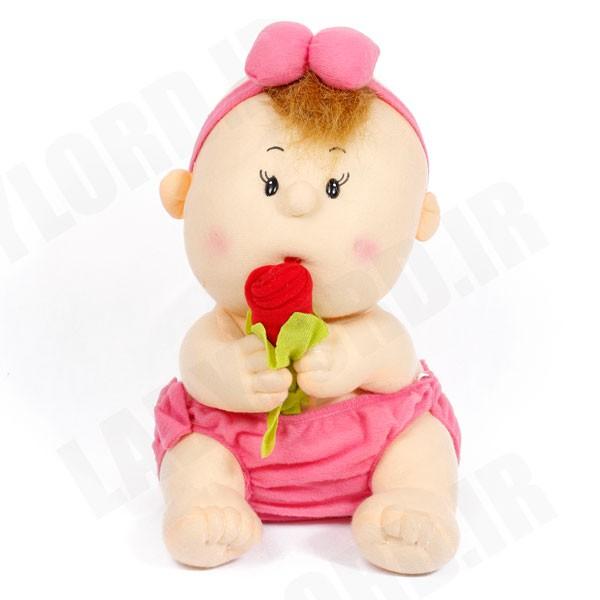 عروسک بچه تایلندی سایز متوسط 36 سانتی متر ارتفاع