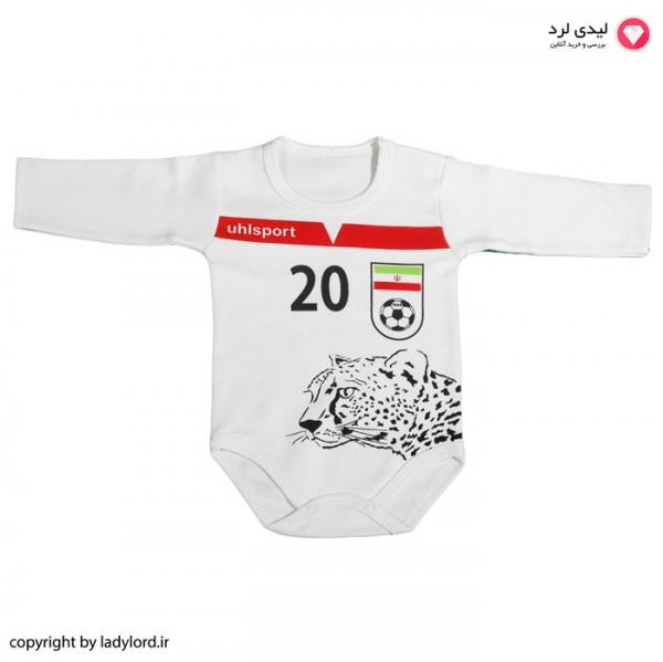 زیردکمه نوزادی طرح تیم ملی فوتبال ایران