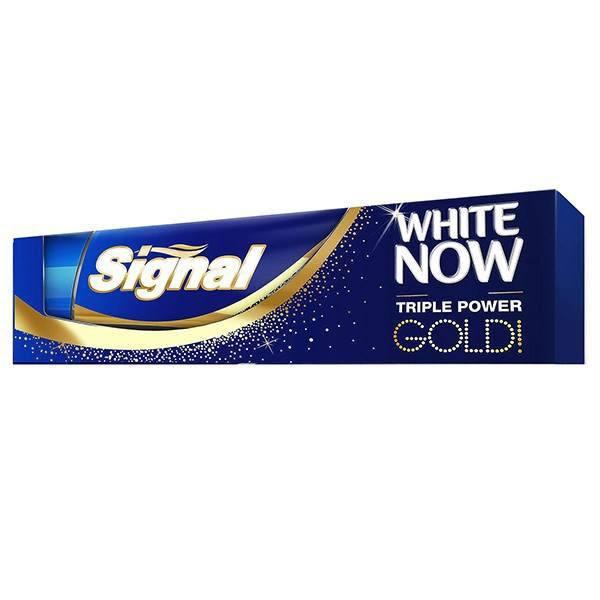 خمیر دندان سیگنال سری White Now مدل Gold تیوب 50 میلی لیتر