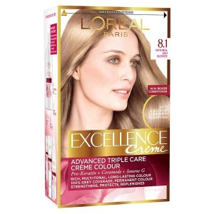 LOreal Excellence No 8.1 Hair Color Kit