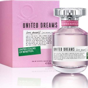Benetton United Dreams Love Yourself Eau De Toilette for Women 80ml