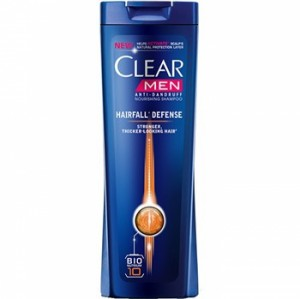Clear Hairfall Defense Anti Dandruff Shampoo For Men 200ml