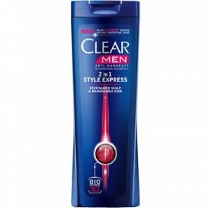 Clear Style Express 2 in1 Anti Dandruff Shampoo For Men 200ml