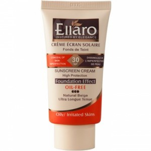 Ellaro Caramel Doux Sunscreen Cream SPF30 Natural beige