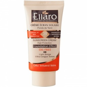 Ellaro Caramel Doux Sunscreen Cream SPF30 Light  beige