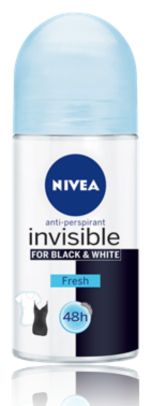 Nivea Black And White Pure For Women Roll-On Deodorant