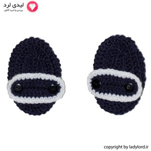 Knit Socks  Baby  blue-white color suitible for 1 to 1.5 years