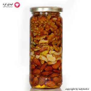 Honey with nuts  Special for bodybuilder 650 gr