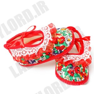pooshkoa 1030 baby footwear red color