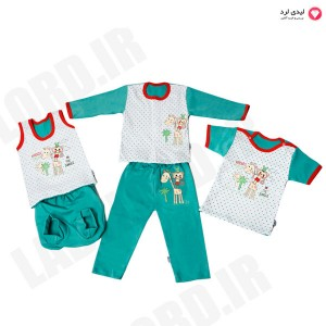Capitan friends for ever in the jungle Baby Clothes Set