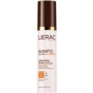 Lierac Sunific Invisible Spf50 Plus Anti Ageing Sunscreen Cream 50ml